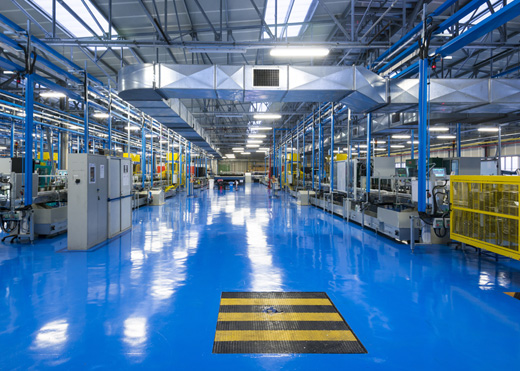 A Manufacturing Plant Floor